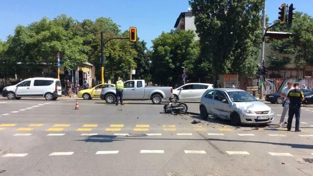 катастрофа отне живота на моторист; Снимка: Мариета Николаева, bTV