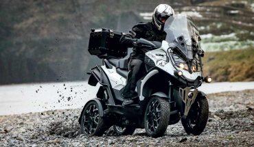 Quadro4 Steinbock - скутер