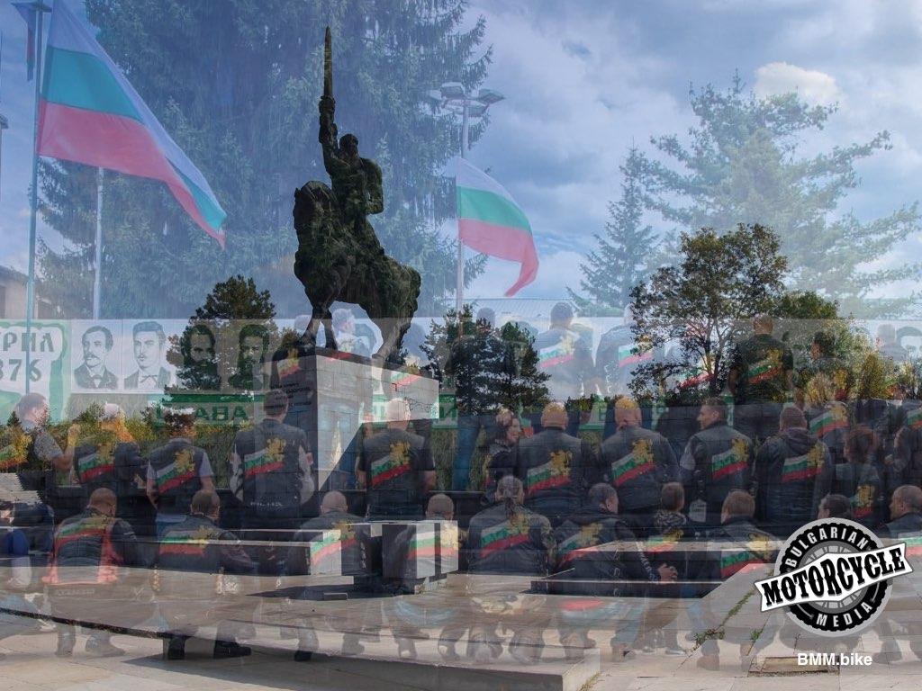 Кан Аспарух 681 ще почетат паметника на патрона си - Кан Аспарух 681 MC почита патрона си