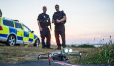 Ендуро полиция с дронове